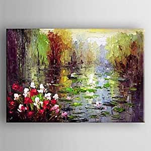 Sanbay art 100 hand painted oil paintings on for Oil paintings for sale amazon