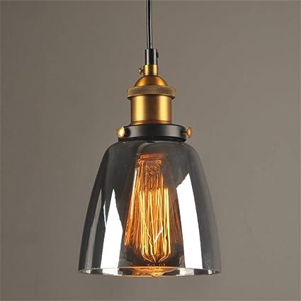 Amazon.com: Vintage Pendant Lights Glass Pendant Lamps Loft ...