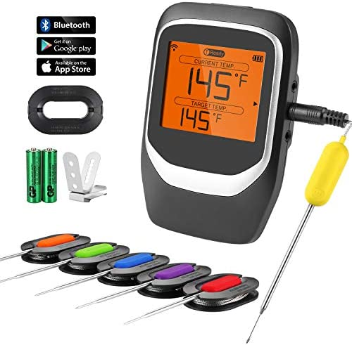 COMLIFE Digital Thermometer Bluetooth Wireless