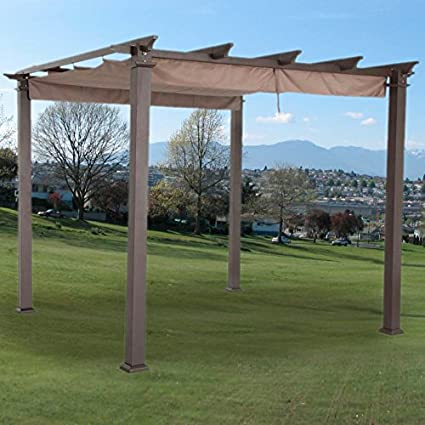 Garden Winds Replacement Canopy Top Cover for Home Depot Hampton Bay  GFM00467F Pergola - Standard 350 - Amazon.com: Garden Winds Replacement Canopy Top Cover For Home Depot
