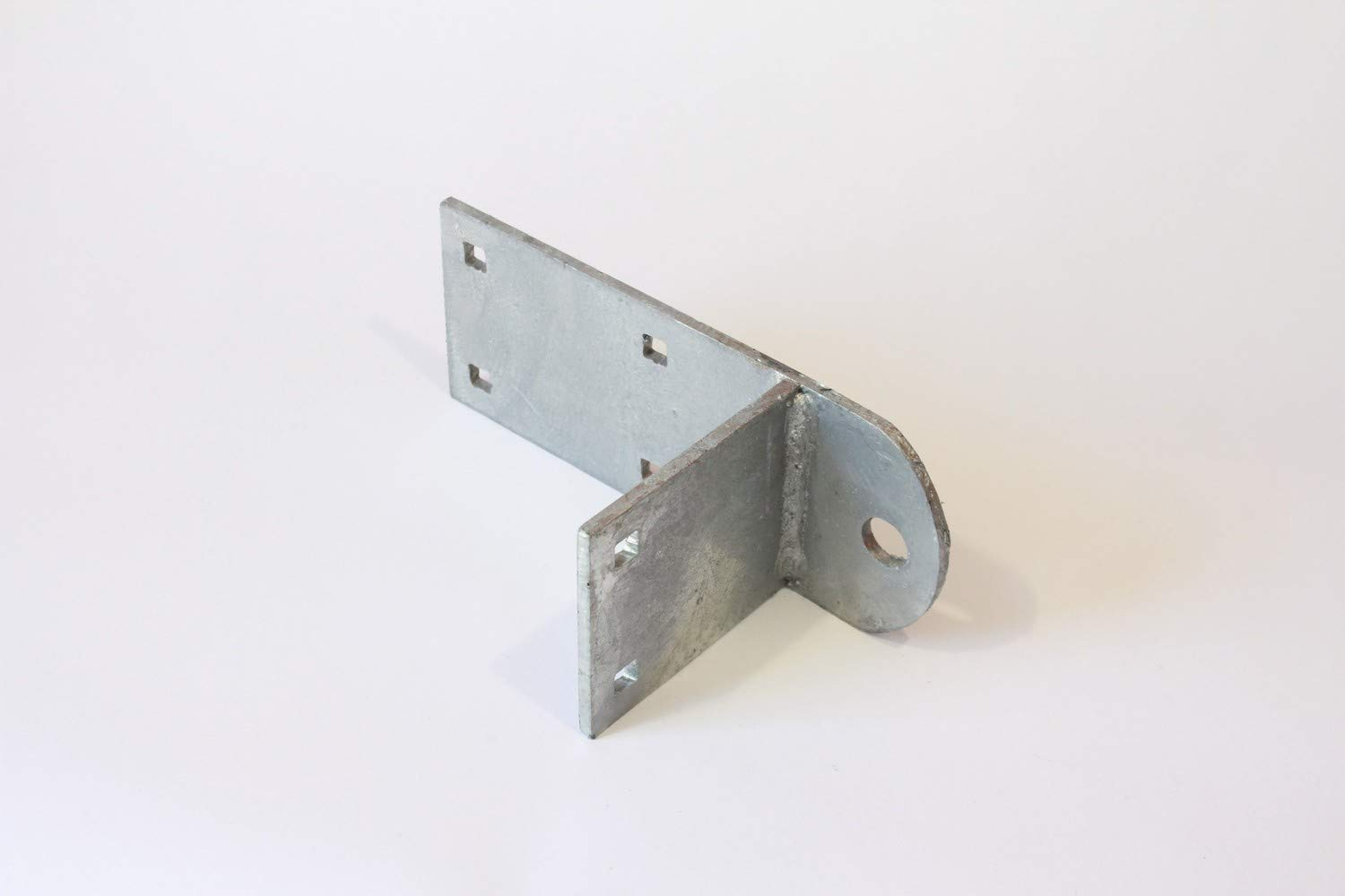 Great Northern 1/4'' Galvanized Steel Reinforced Hinge Plate, 4 x 10