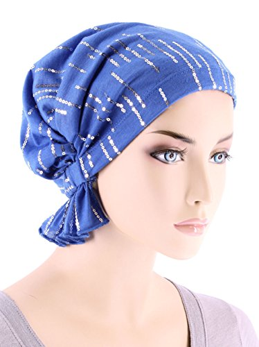5e8abcfc928 Turban Plus The Abbey Cap in Cotton Knit Chemo Caps Cancer Hats for Women -  Buy Online in UAE.