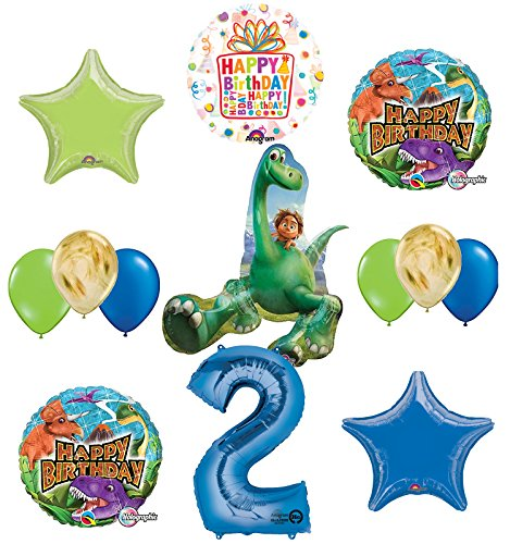 Arlo and Spot The Good Dinosaur 2nd Birthday Party Supplies and Balloon (Party Good Store)