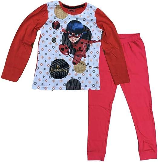 Miraculous Ladybug - Pijama rojo 116 cm: Amazon.es: Ropa y ...