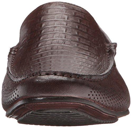 Zanzara Heren Alexander Instappers Loafer Bruin