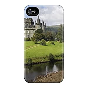 Hot Style ErJbaPZ58PKkQc Protective Case Cover For Iphone4/4s(invereray Castle In Argyll Scotl)