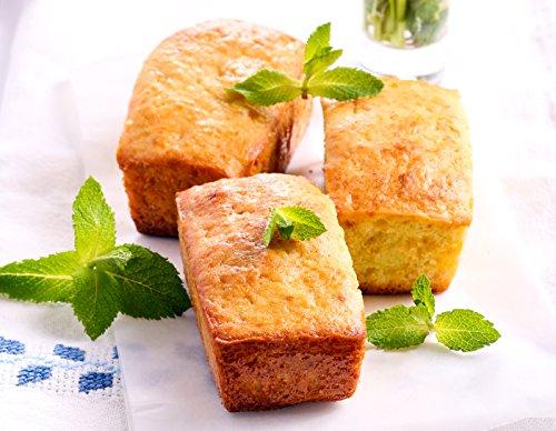 DOBI Mini Loaf Baking Pans - Disposable Aluminum Foil small Bread Tins, 6'' X 3.5'' X 2'' (Pack of 50) by DOBI (Image #4)