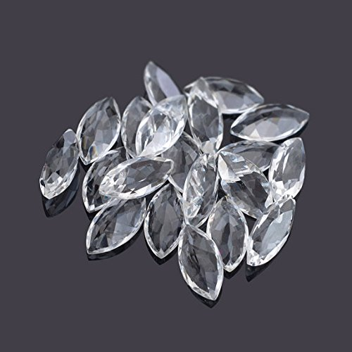 Natural White Topaz 5x10mm Faceted Cut Marquise 10 Pieces Top Quality Loose Gemstone