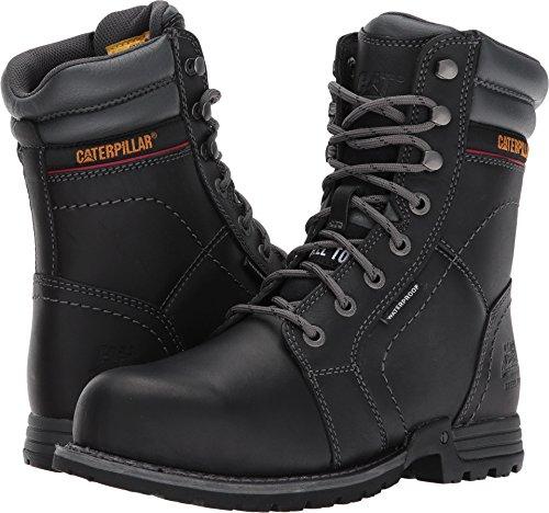 Caterpillar Women's Echo Waterproof Steel Toe Industrial and Construction Shoe, Black, 9 M US