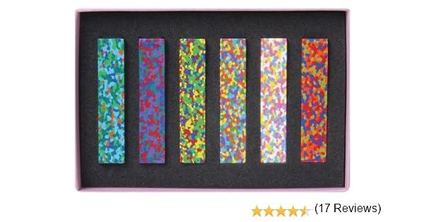 Aozora Dot Flowers Multi-Color Crayon Stick - Set of 6 (japan ...