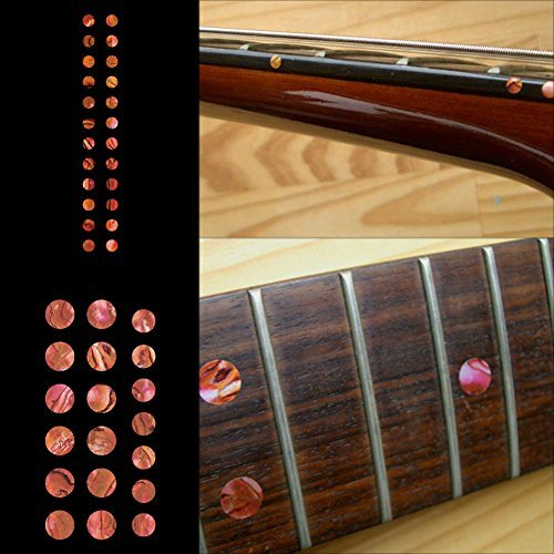 (Fretboard Markers Inlay Sticker Decals for Guitar and Bass - Custom Dots Set-AR)