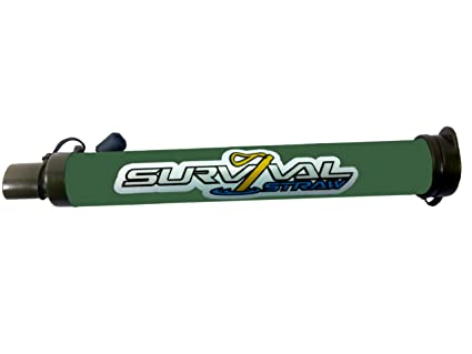 Amazon com : Survival Straw (TM) Your Personal Water Filter