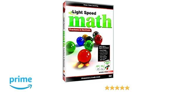 Amazon.com: Light Speed Math: Fractions & Decimals: Cerebellum ...