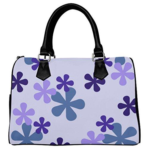 Jasonea Women Boston Handbag Top Handle Handbag Satchel Amazing Fractal Basad191943
