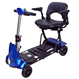 Solax Mobie Plus Folding Mobility Scooter (Blue)