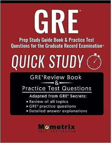 amazon gre prep study guide quick study book practice test