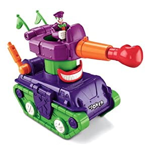 Fisher-Price Imaginext DC Super Friends Joker Tank - 51iQWC 2BkLyL - Fisher-Price Imaginext DC Super Friends, Joker Tank