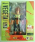 "Bandai Tamashii Nations SH Figuarts Vegeta Original Animation Colors SDCC Exclusive ""Dragonball Z"" Action Figure"