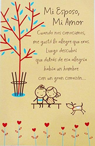 Mi Esposo, Mi Amor / My Husband, My Love - Feliz Dia de San Valentin / Happy Valentine's Day Romantic Greeting Card for Husband in Spanish