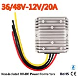 Club Car Precedent Voltage Reducer 36V-48V Volt To 12V 20 Amp 2017 New