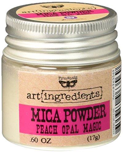 Iridescent Peach (Prima Marketing Finnabair Art Ingredients Mica Powder, 0.6 oz, Iridescent Peach)
