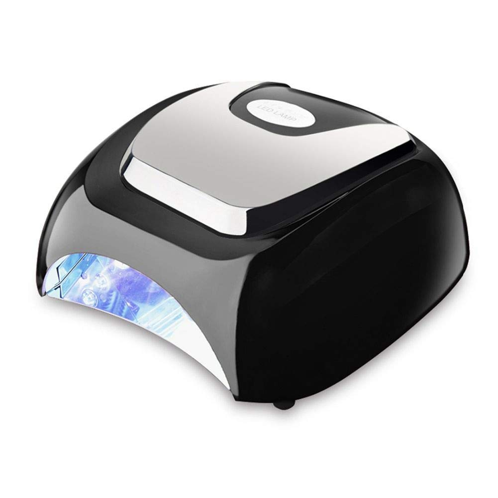 ネイルドライヤー48ワットネイルドライヤーホワイトLED乾燥ネイルジェルポリッシュ機器マニキュアサロンネイルアートツールオートセンサーネイルワニスランプ、画像としての色 B07TQM5KW6 The Color as Picture