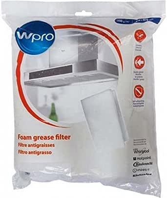 Filtro para campana antigrasa 150 g 470 x 970 mm Whirlpool/universal (484000008523): Amazon.es: Grandes electrodomésticos