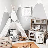 little dove Kids Foldable Teepee Play Tent with
