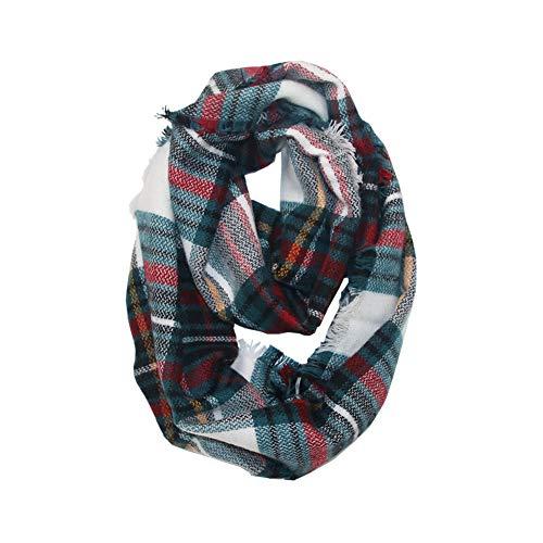 Infinity Versatile Fashion Scarf Head Wrap Women Soild Dot Printing Long Soft Wrap Scarf Ladies Shawl Scarves -