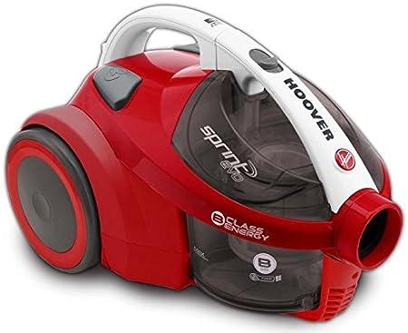 Hoover SE81SE20 - Aspiradora de trineo, 850 W, color gris y rojo: Amazon.es: Hogar