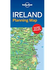 Lonely Planet Ireland Planning Map 1st Ed.