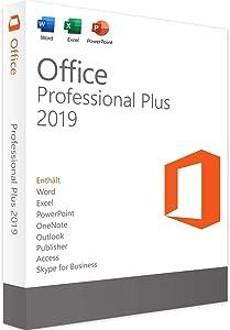 Office 2019 Professional Plus Lifetime License | 32/64-bit | PC