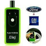 JDiag Supper EL-50448 Auto Tire Pressure Monitor Sensor TPMS Relearn Reset Activation Tool OEC-T5 EL-50448 for GM and Ford cars