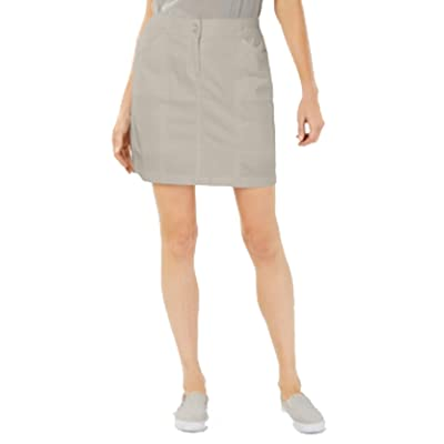 Karen Scott Knit Waist Band Skort at Women's Clothing store