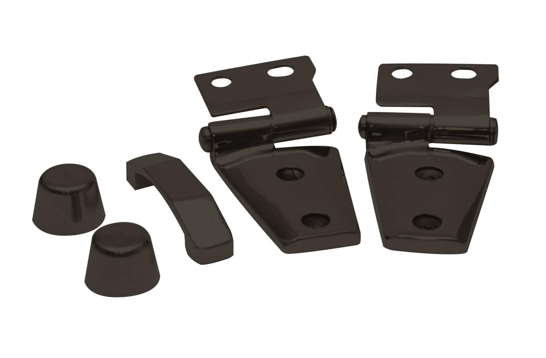 Rampage Products 87666 Hood Kit for 2007-2018 Jeep Wrangler JK, Black