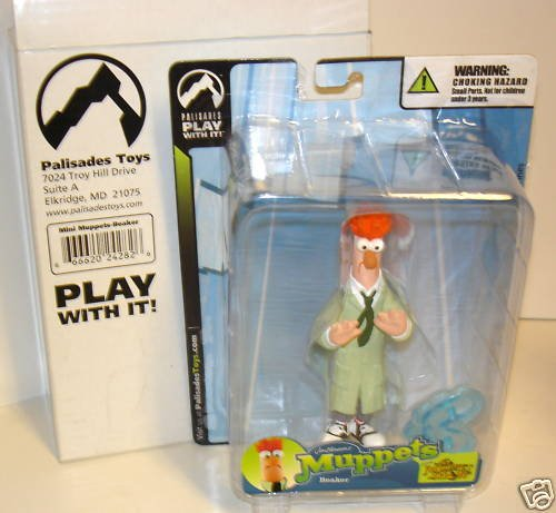 Muppets Mini - Jim Henson Muppets Mini Beaker Labs Assistant