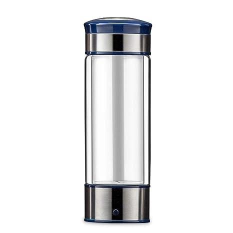 TE62 Portable Intelligent Hydrogen Rich Water Cup Bottle Ionizer Generator UK