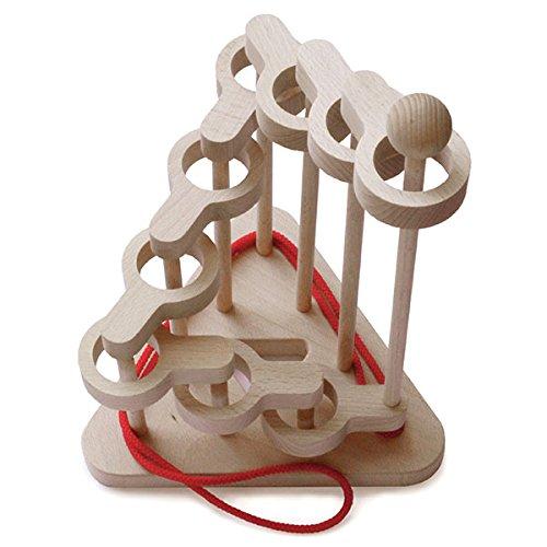 人気満点 立体知恵の輪(9段)木のおもちゃ脳トレ パズルマニア 頭脳活性 B002AZLWPU 木育 頭脳活性 パズルマニア B002AZLWPU, カー用品のピックアップショップ:be71542c --- a0267596.xsph.ru
