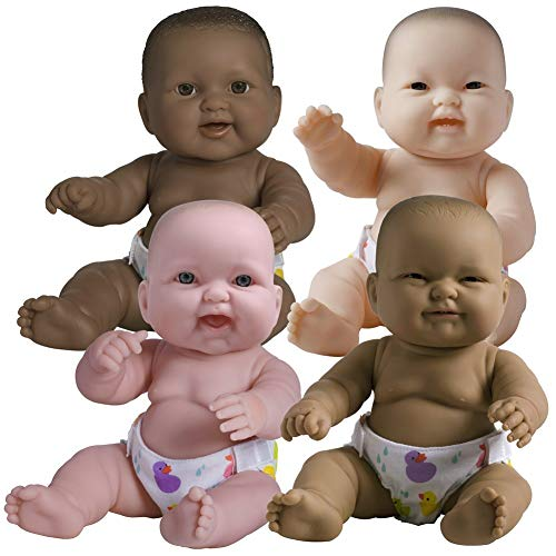 """JC Toys 14"""" Lots to Love Babies (Set of 4)"""