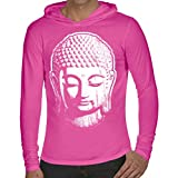 Yoga Clothing For You Mens Big Buddha Hoodie Tee Shirt