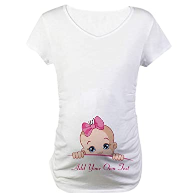 e9389ed2bac Voberry shirt Women Short Sleeve Pregnant Maternity Dress Solid Printing  Cartoon Print Tops Baby Letter Print Half Sleeve: Amazon.in: Clothing &  Accessories