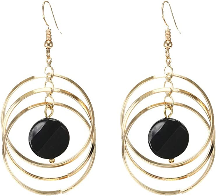 Hammered Sterling Hoop Earrings Silver Fringe Turquoise Dangling Earrings Sterling Boho Earrings