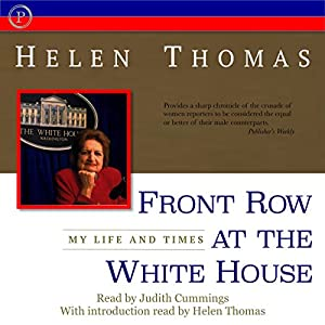 Front Row at the White House Audiobook