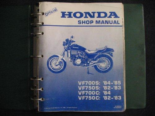 Honda 1982-1984 VF700S VF700C VF 700 S C VF750S VF750C VF 750 S C SABRE MAGNA ORIGINAL FACTORY SERVICE (Honda Vf700s Sabre)
