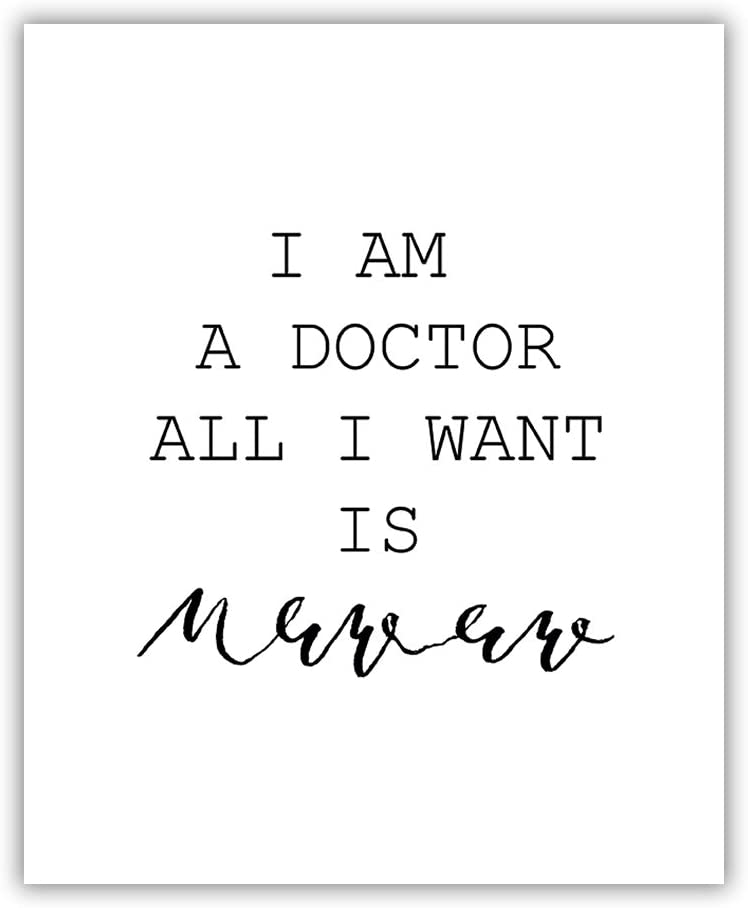 PGbureau 8x10 P18 Funny medical posters.medical wall art.medical office wall art.doctor gifts.doctor gifts for women.for men