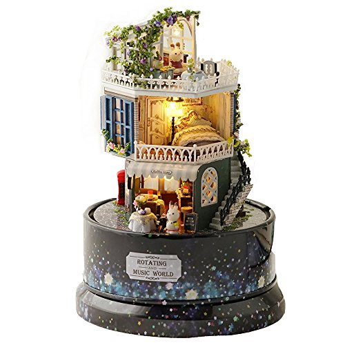 ASIDIY Dollhouse Miniature DIY Dollhouse Kit with Furniture for sale  Delivered anywhere in USA