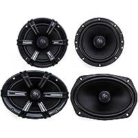 2) MB Quart DK1-169 6x9 180W Discus Speakers + 2) DK1-116 6.5 Car Speakers