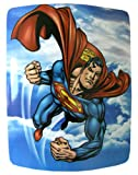 DC Heroes Plush Blanket - Superman micro raschel throw