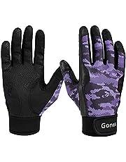 Gonex Baseball Batting Gloves for Adults Youth Men, Winter Cycling Gloves,Softball Batting Gloves, Super Grip,Microfiber Palm