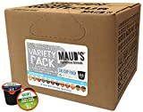 Maud's Gourmet Coffee Pods - 12 Flavor Variety Pack, 136-Count Single Serve Coffee Pods - Richly Satisfying Premium Arabica Beans, California-Roasted - Kcup Compatible, Including 2.0